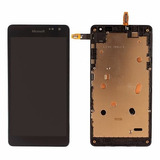 Display Lcd Tela Touch Microsoft Nokia Lumia 535 Com Aro