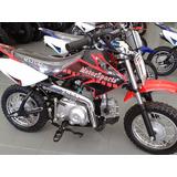 Moto Cross Semi Automatica 50 Cc 4 Tempos