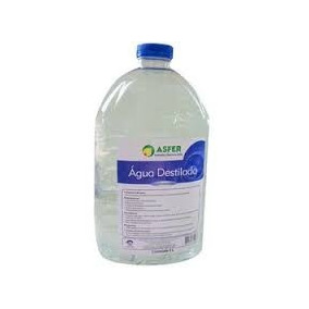 Kit 04 Galão Água Destilada Galão 5 Litros