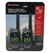 Radio Motorola Talkabout De 2-vias 32 Kms.de Alcance Nuevo