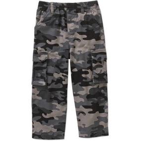 Pantalon Cargo Camuflaje Americano Militar Talla 3 Años
