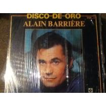 Disco Acetato: Alain Barriere