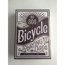 Cartas Bicycle Autocycle No. 1 - Violetas - Recien Salidas