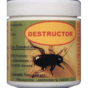 Mata Cucarachas Ecológico O Cucarachicida Facturado 260grs
