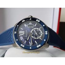 Relógio Eta Modelo Cartier Calibre De Cartier Diver Blue