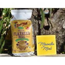 Linaza Golden Orgánica Molida 453 Gramos Sin Gluten