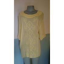 Blusa Indu, Importada Talla 2xl Color Amarillo Pastel