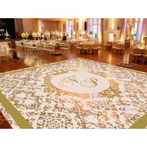 Tapete Pista De Dança Personalizada Casamento