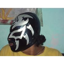 Mascara De Luchador La Sombra Lycra Economica P/adulto