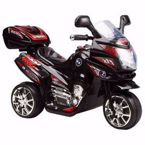 Nueva Moto Eléctrica Bmw Lujo De Niños De 1 A 5, Engallada