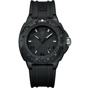 Reloj Luminox Land Sentry A.0201.bo Caucho Negro Ghiberti