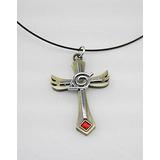 Símbolo De La Hoja Naruto En Angel Alas Cosplay Collar De M