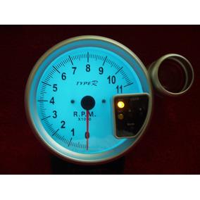 Contagiro Rpm Type R Tacômetro Relógio Com Shift Light 125