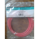 Patch Cord Panduit Cat 6 - Rojo, Utpsp10rdy 3 Mts - 10 Ft