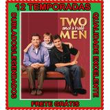 Serie Dois Homens E Meio 1ª A 12ª Temporadas + Frete Grátis