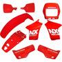 Kit De Carenagem Adesivado Honda Nx 150 9 Peças - Paramotos