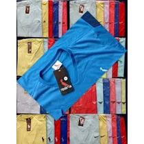 Kit C/ 10 Camisetas Gola V Várias Marcas Atacado