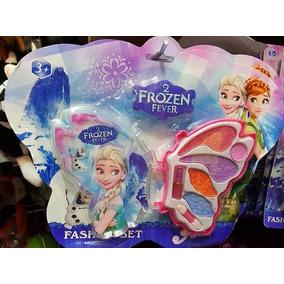 Kit Maquiagem Infantil Frozen Luna Princesas Sofia
