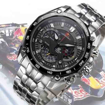 Relógio Casio Edifice Red-bull Ef 550rbsp Original Top