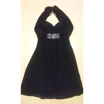 Vestido De Fiesta Negro Dressbarn Collection Talla 8