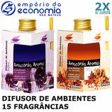 Difusor De Ambientes Aromatizador Perfume Amazônia Aromas