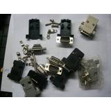 Conector Serial Pc O Similar Rs 232 Machos Y Hembras