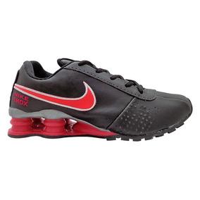 Tênis Feminino Nike Shox Classic Preto E Pink