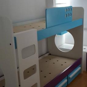 Cama Cucheta,cama Funcional,cunas,cama Puente,camas Nido