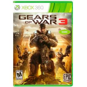!!! Gears Of War 3 Para Xbox 360 !!! 100% En Español Latino