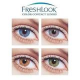Lente De Contato Freshlook Colorblends 100% Naturais.