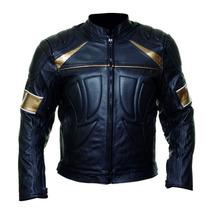 Jaqueta De Couro Augustus Motociclista Motoqueiro Jmm033