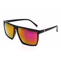 Óculos De Sol Quadrado Griff Cranio Preto Masculino Feminino