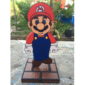Centros De Super Mario Bros Cotillon Cumpleaños