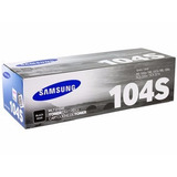 Toner Samsung 104s Mltd104s Negro Original Ml1660 1665 1865