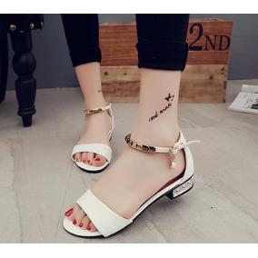 Mei Fashion / Sandalias Plana Casual / Moda Coreana / Verano