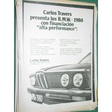 Publicidad Automoviles Bmw Carlos Travers Buenos Aires
