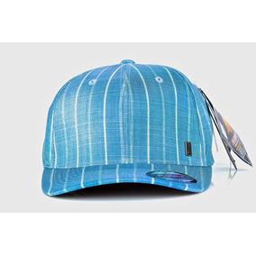 b039f7790bb0d Boné Quiksilver Original Com Nota Fiscal Azul Listras
