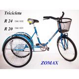 Tricicletas Rodado 20 Y Rodado 24 Somos Fabricantes
