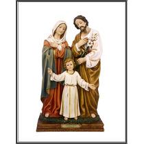 Imagem Sagrada Família 21 Cm Resina Di Angelo