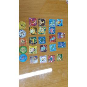 Coleção Tazos Elma Chips Pokemon