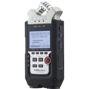 Gravador Áudio Zoom H4n Pro Digital Handy Recorder 4 Canais
