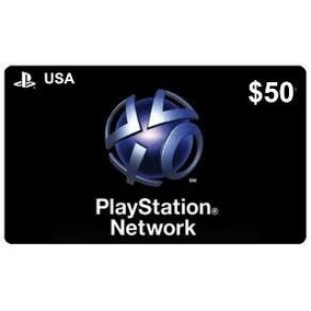 Psn Card 50 Dolares Americano