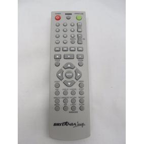 Controle Remoto Dvd Britania Portatil Original