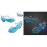 Sapatilha Elsa Frozen Acende Disney Store Importada Eua