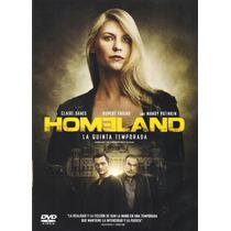 Homeland Quinta Temporada 5 Cinco Serie De Tv En Dvd