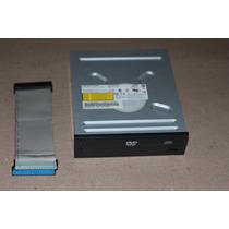 Drive Leitor Dvd/ Gravador Cdrw Ide Desktop- R$15 Aproveite