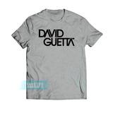 Camiseta David Guetta Dj Festa Eletro Camisa Masculina