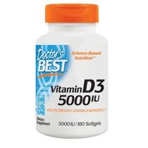 Vitamina D3 5000 Iu 100% Original 180 Gel (envío Gratis)
