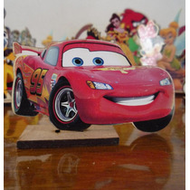 Centros De Mesa Cars En Fibrofacil