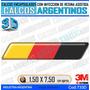 Calcomanias 3d Con Relieve, Accesorio Autos Bandera Alemania